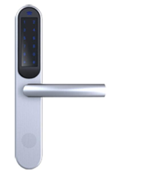 Garnitures de porte avec b quille lectronique code garnitures de porte a - Porte blindee avec code ...